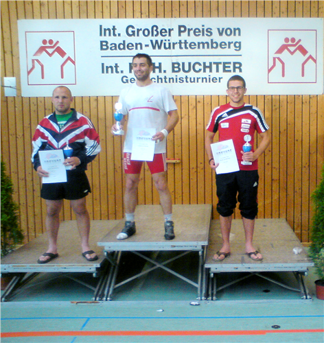 Florian Marchl - 3. Platz beim GP v. Baden Württemberg (GER)