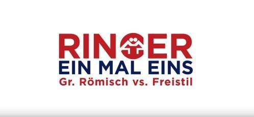 Ringer 1x1 - Griechisch Römisch vs Freistil