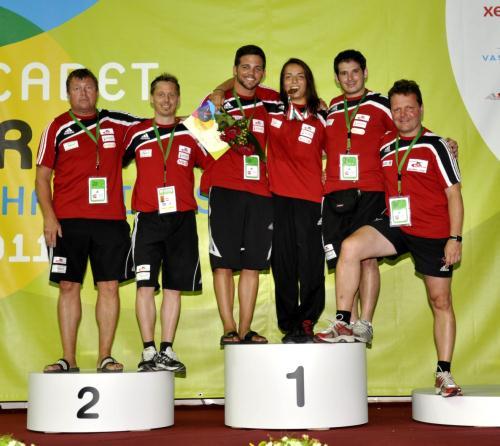Martina Kuenz (RSC Inzing) Kadetten-WM Bronze