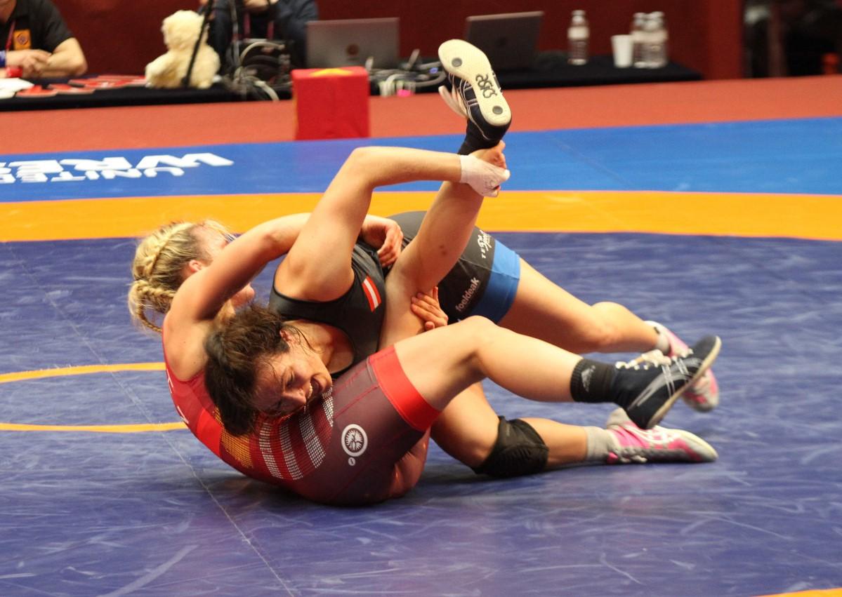 Dominiert Mann Wrestling Mädchen Buzzer Beater
